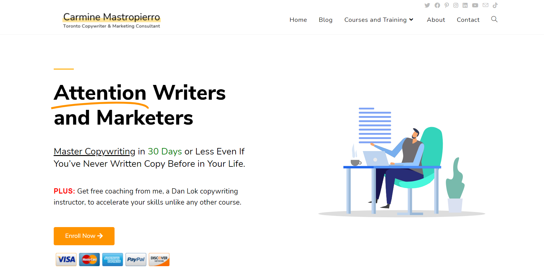 Copywriting Course to Master Copywriting in 30 days or less